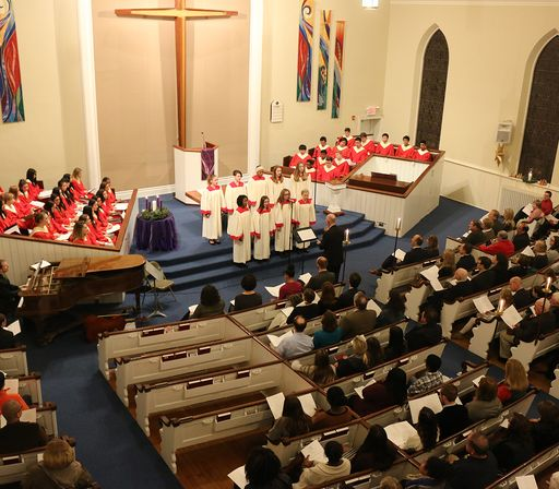 Lessons and Carols held Monday night