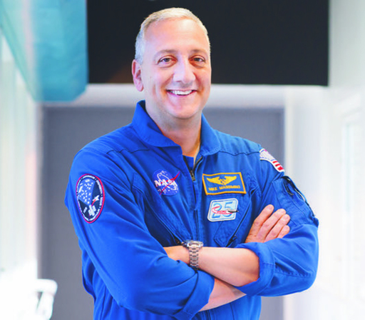 Michael Massimino speaking January 8