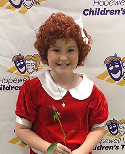 "Sixth-grader acts as lead in ""Annie"""