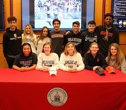 Seniors honored for athletic commitments