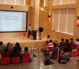 Investment Club hosts speakers