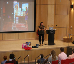 Rebecca Rescate delivers Applied Science presentation