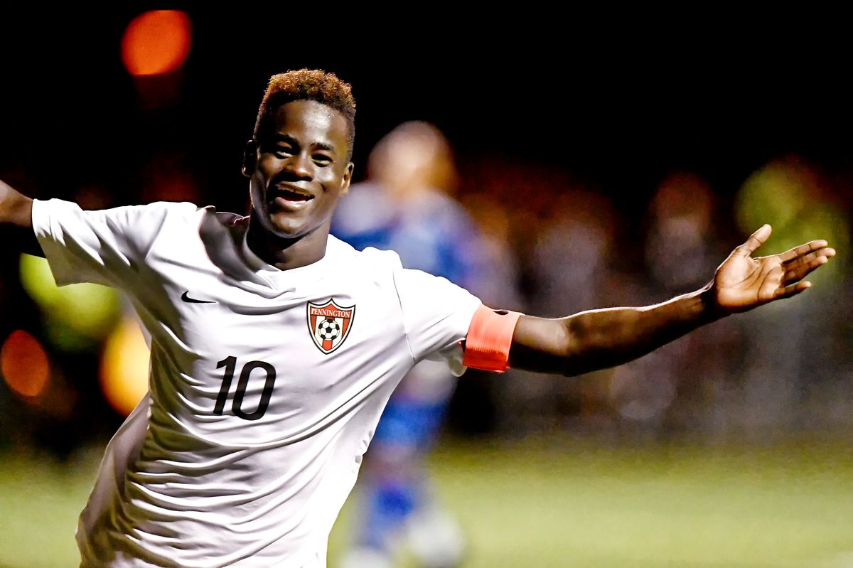 Ibrahima Diop '18 selected to USA Today All-American Soccer Team