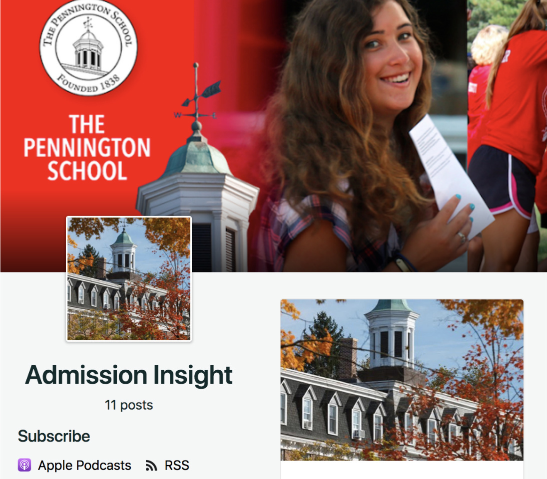 New 'Admission Insight' podcast released