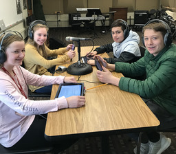 The Middle School podcast project — Learning by doing