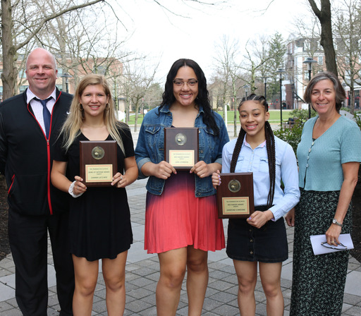 Winter athletic awards presented