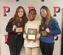 Fall athletic awards presented