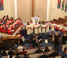 Lessons and Carols service held on Dec. 18
