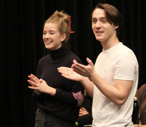 Broadway actor, Michael Lee Brown '11, hosts workshop for drama students