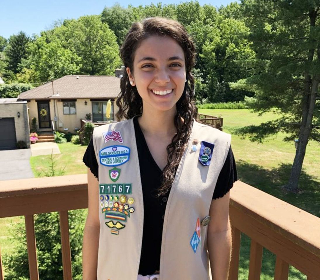 Pennington alumna earns Girl Scouts Gold Award