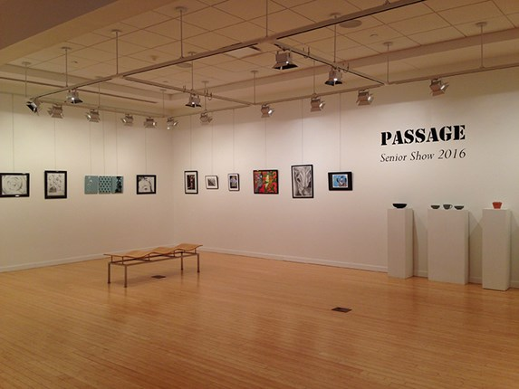 Passage show in gallery
