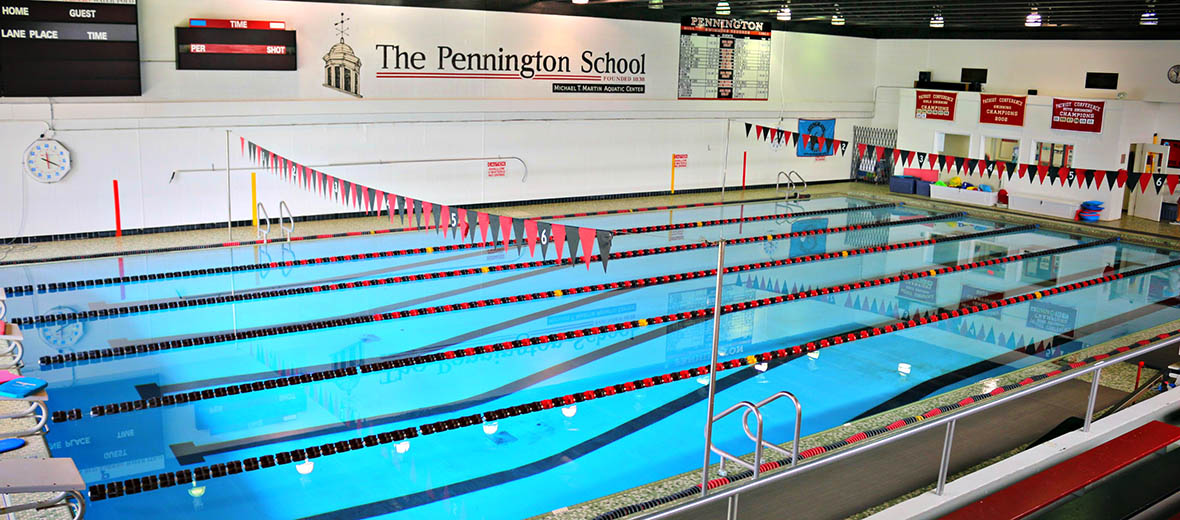 Indoor School Swimming Pool aquatics program - the pennington school