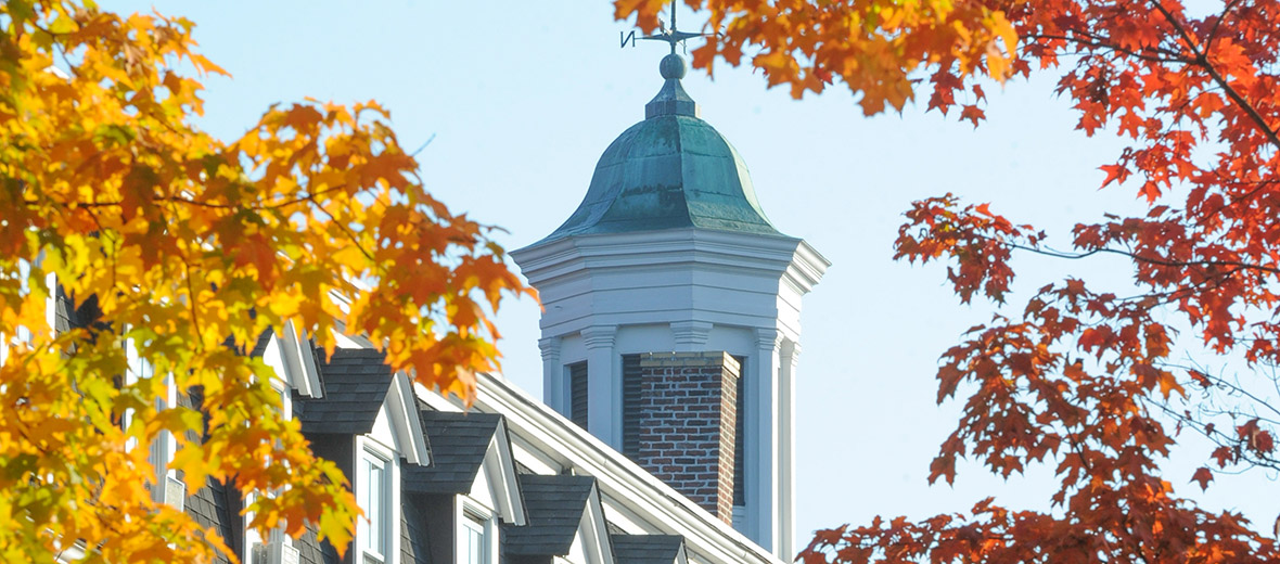 Cupola in fall colors